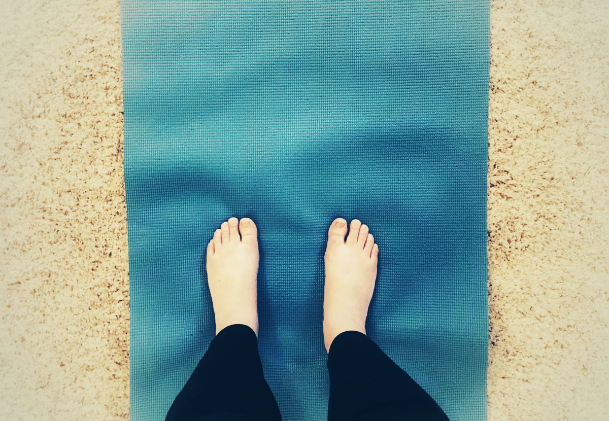 Day 2/part 2: Yoga begins